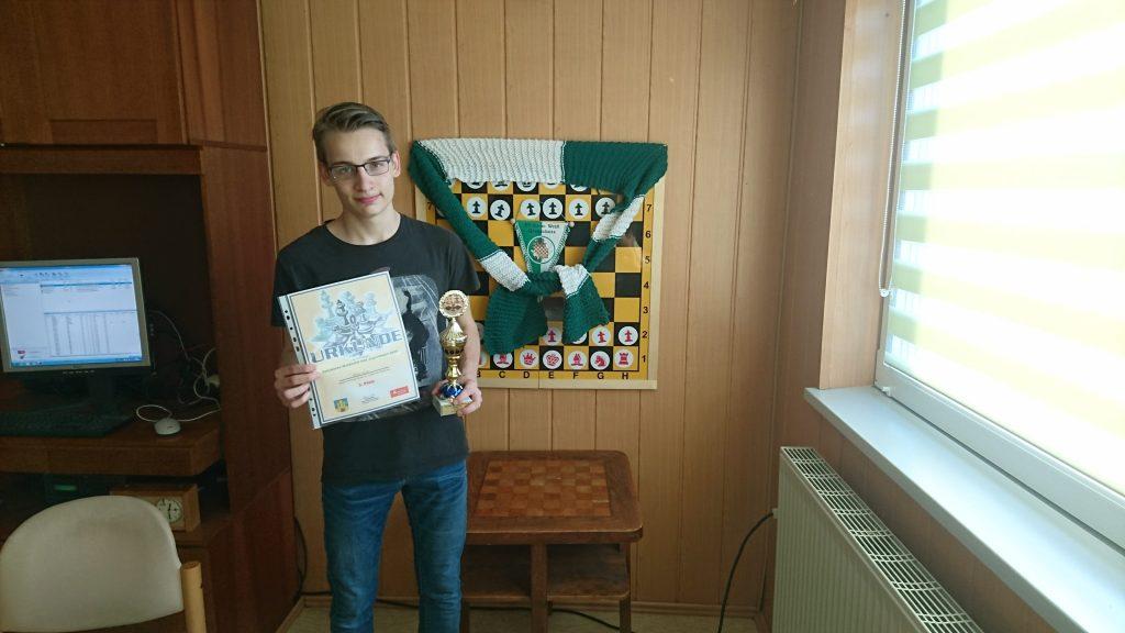 Axel Kuhn 3. Platz im B-Turnier.