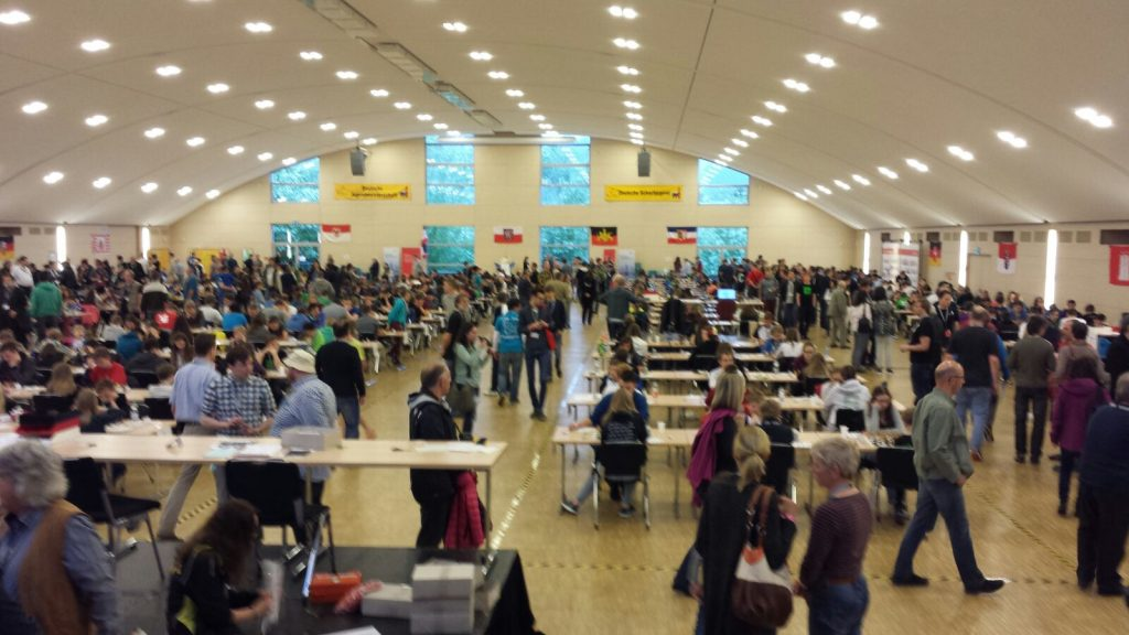 Der Spielsaal in Willingen